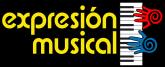 Logo de academia expresion musical