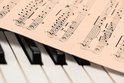 piano, sheet music, music